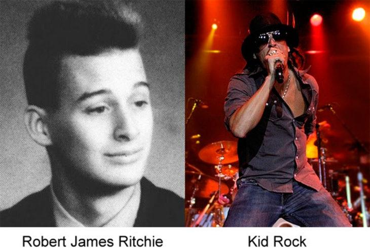 el antes y después de kid rock