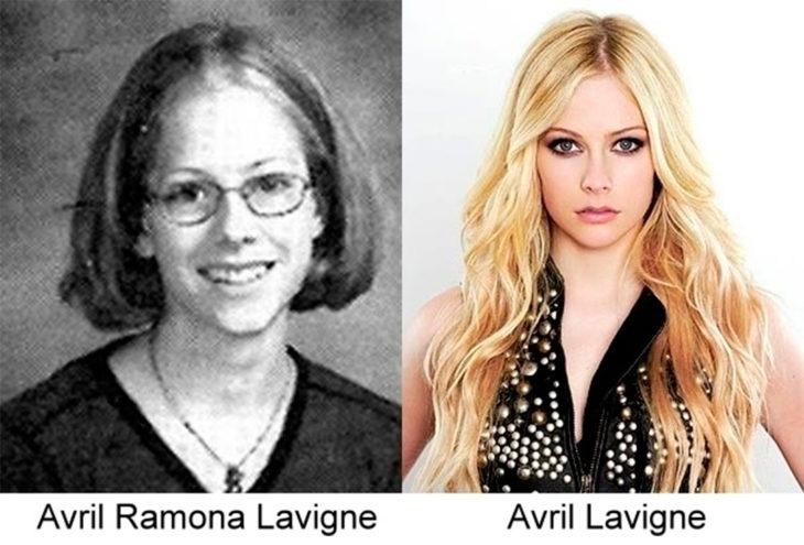 antes y después de avril lavigne