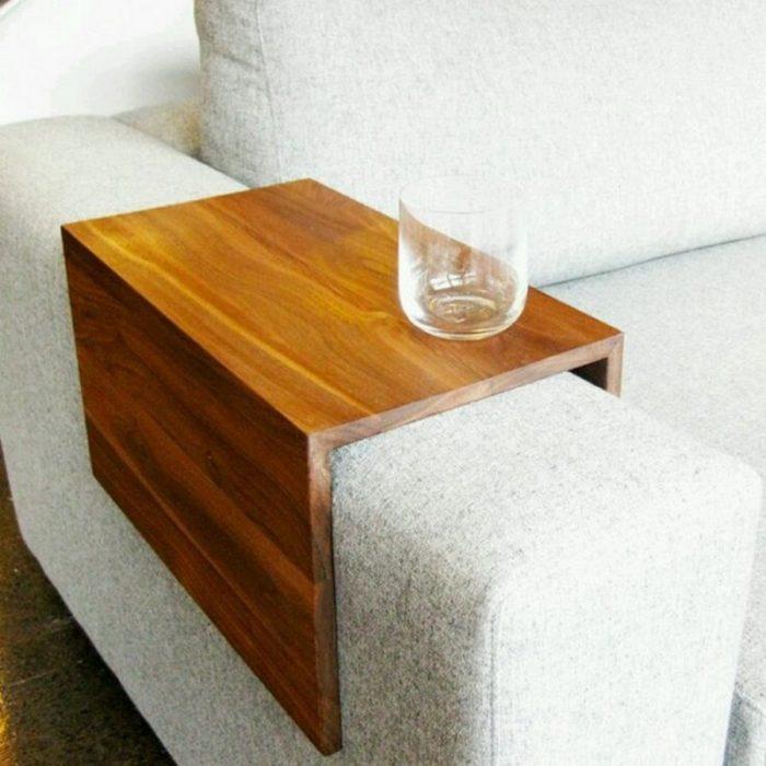 base para sillón de madera