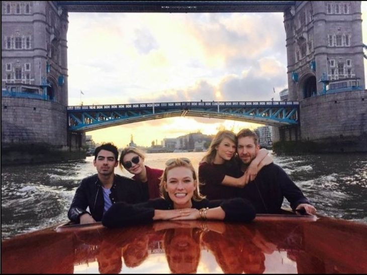 taylor Swift, Calvin Harris, Karlie Kloss, Gigi Hadid And Joe Jonas