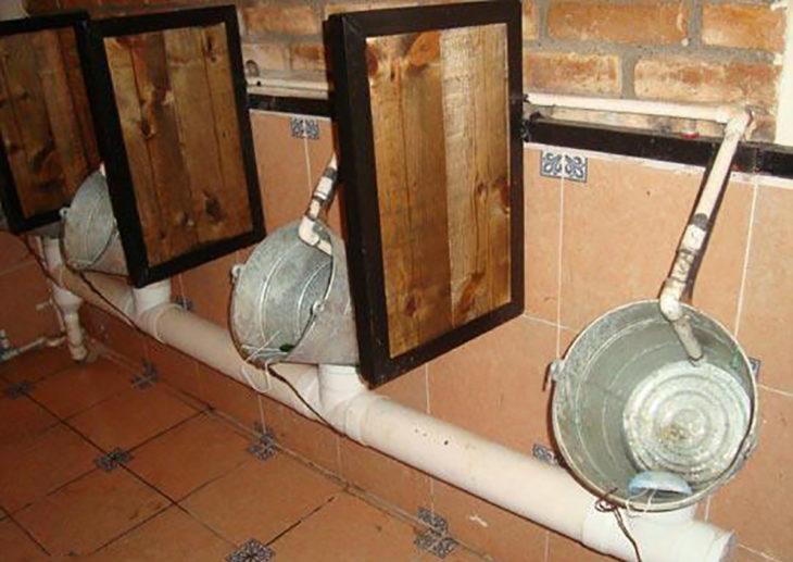 baños de cubetas