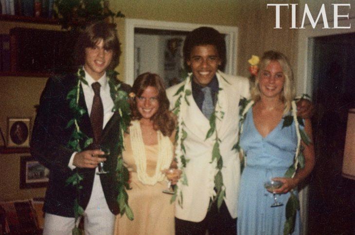 foto de graduación de barack obama