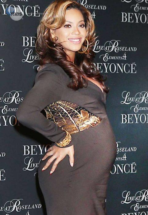 beyonce cuando está embarazada