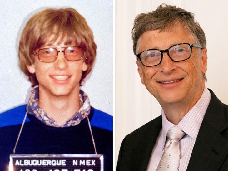 bill gates antes y ahora