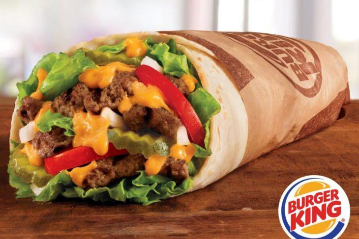 burrito de burguer king