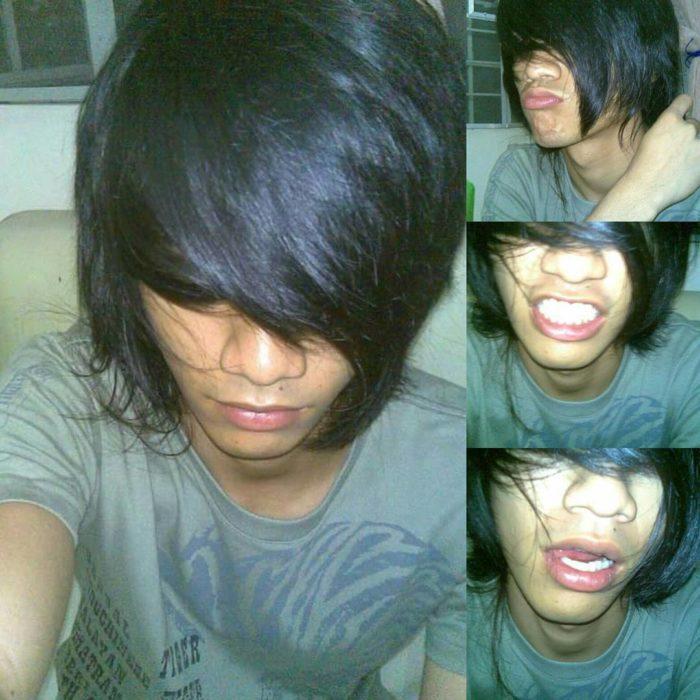 peinado emo