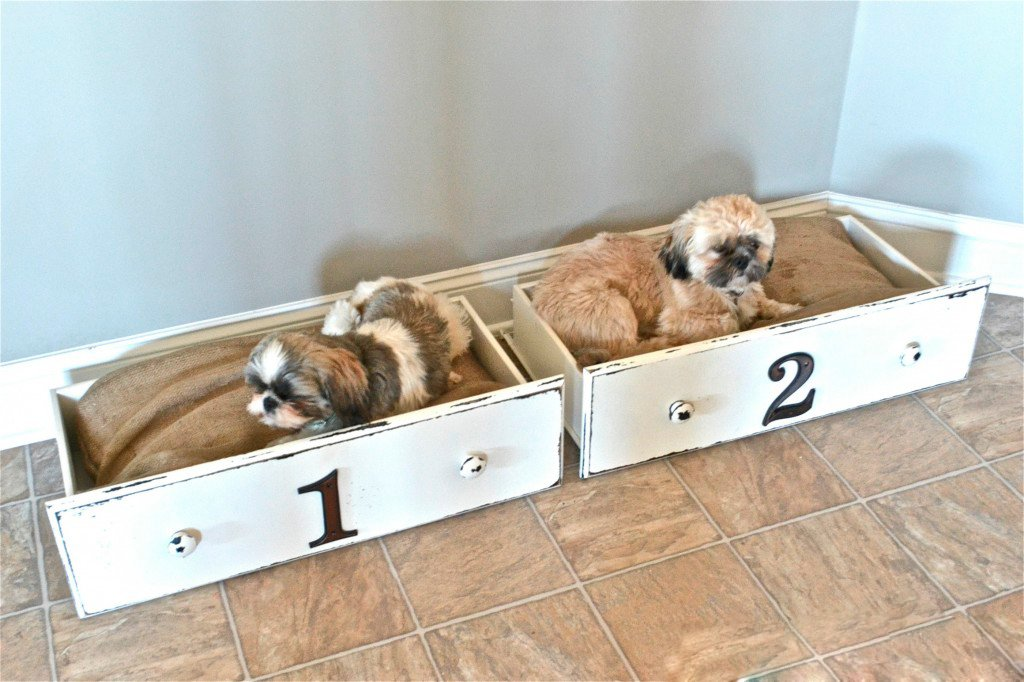 15 ideas de camas creativas para perros que querr s ya mismo - Como hacer camitas para perros ...