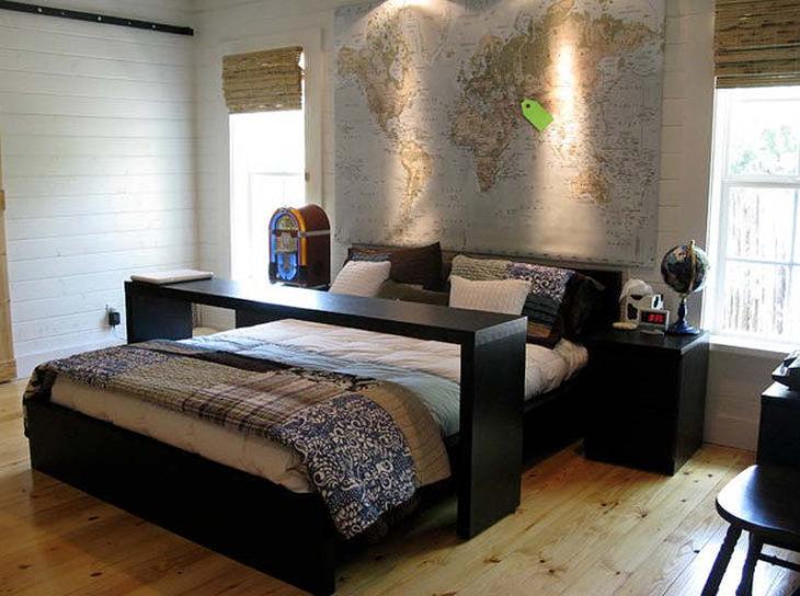 cama moderna y elegante