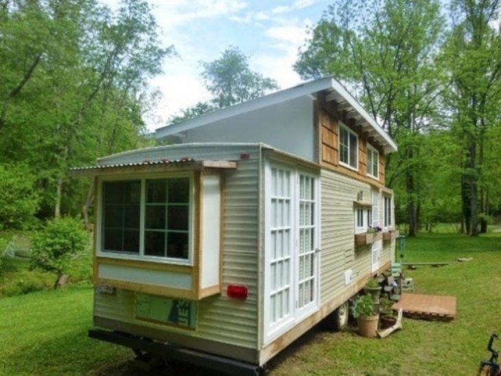 casa rodante pequeña y acogedora