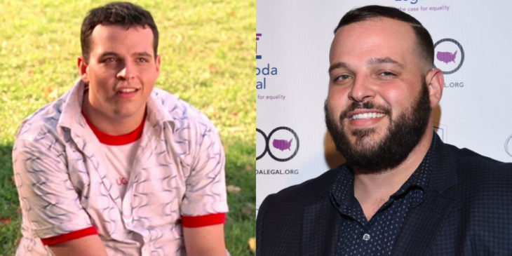 Daniel Franseze durante y después de mean girls