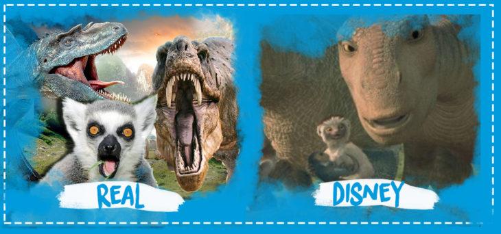 error de la película dinosaurios