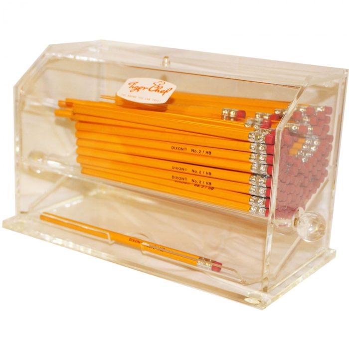 dispensador de lápices práctico