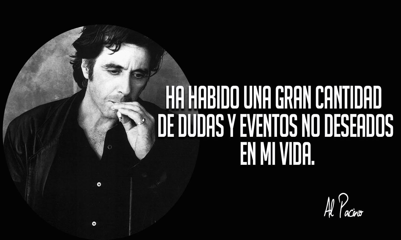 15 Frases de Al Pacino...