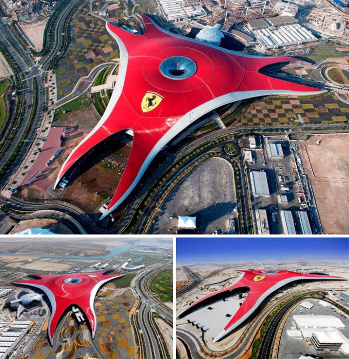edificio en emiratos árabes que está padrísimo