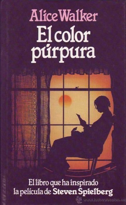 """Libro """"el color púrpura"""""""