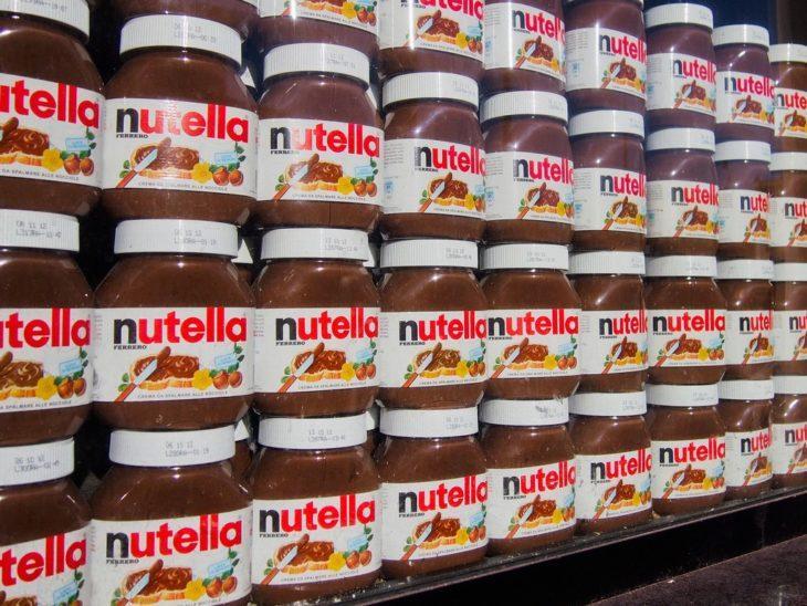 nutella en el supermercado