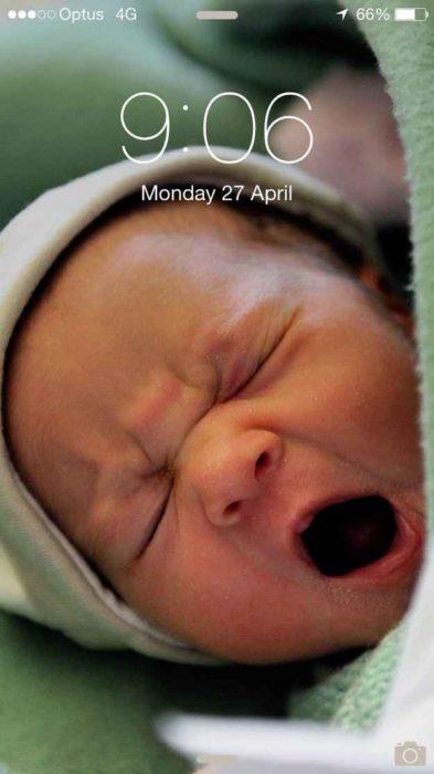 fondo de pantalla de bebé