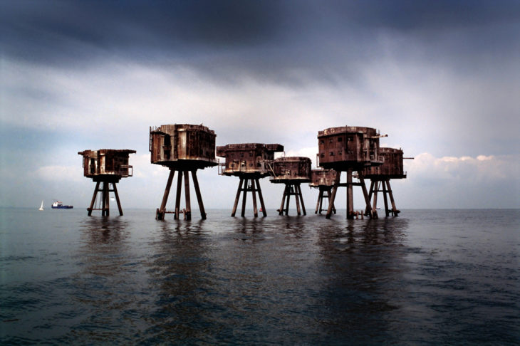 Fortalezas marinas de maunsell