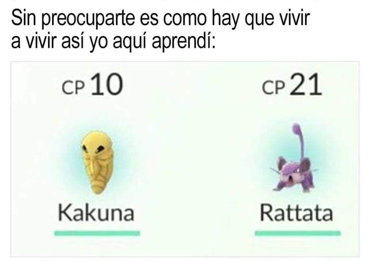chiste sobre pokemón y hakuna matata