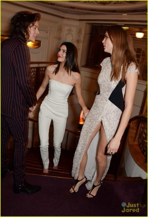 Harry Styles , Kendall Jenner y Cara Delevigne