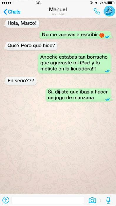 mensajes de texto en whatsapp