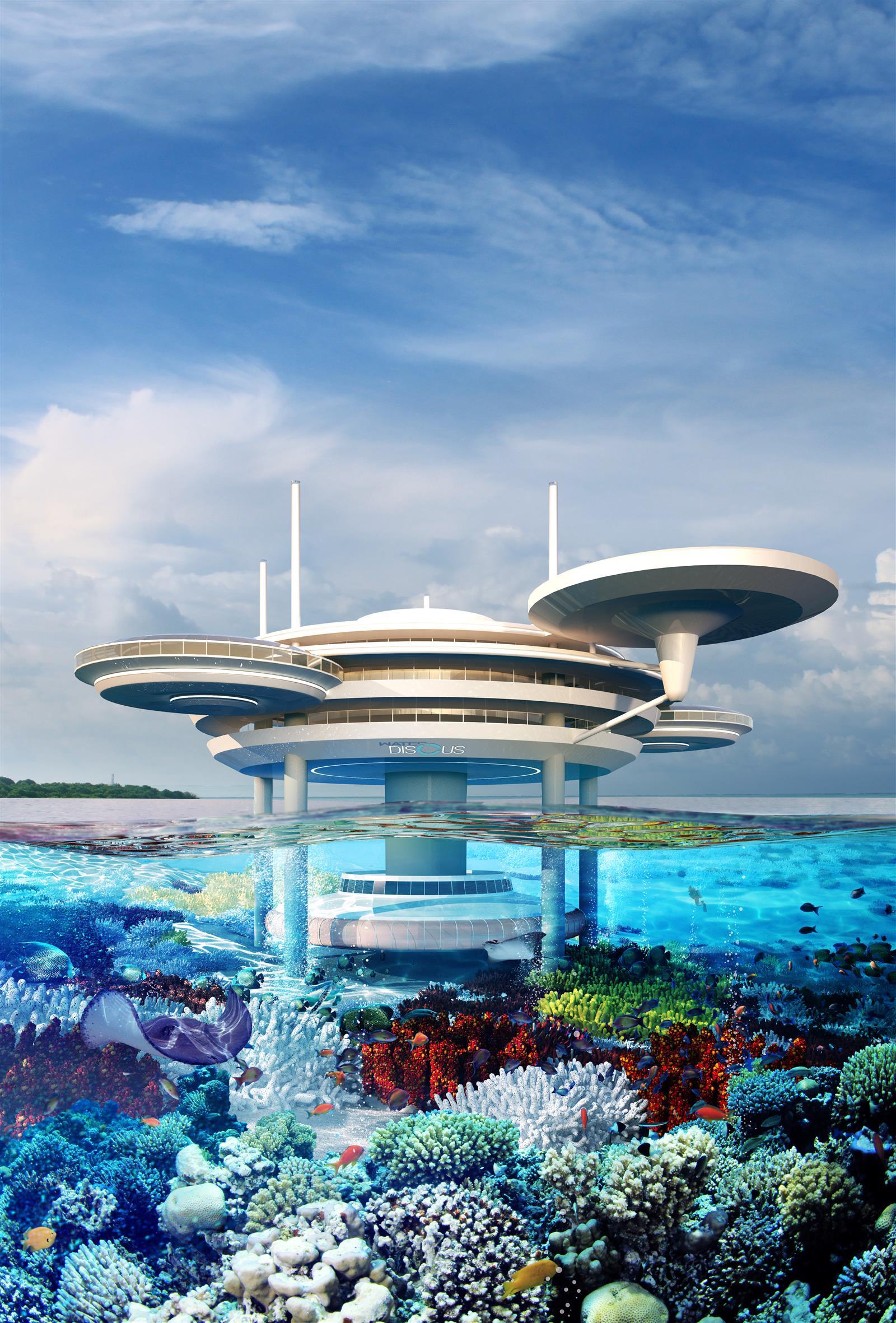 15 lujos que tendr as si fueras un magnate viviendo en dubai for Hotel bajo el agua precio