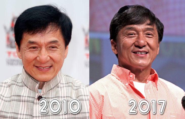 jackie chan 2010 y 2016
