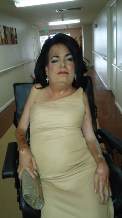 johnnie baima en silla de ruedas