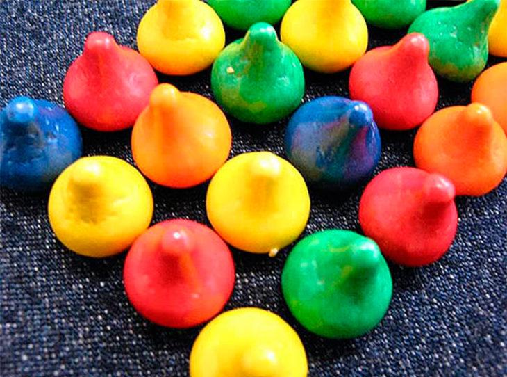 kisses de colores
