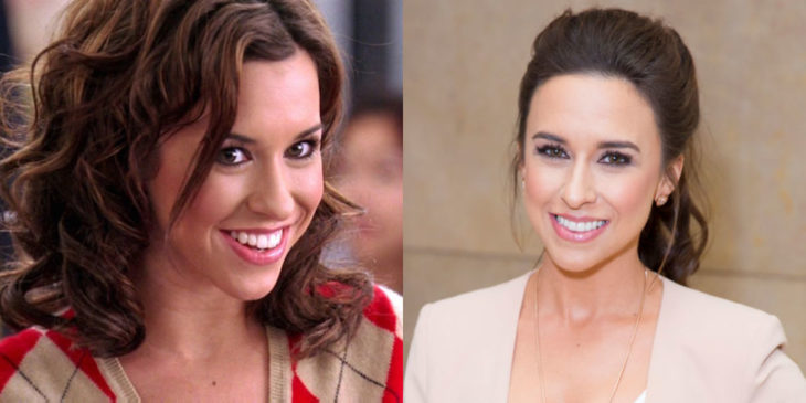 lacey chabert antes y después de mean girls