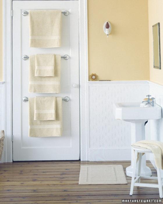life hacks toallas atras puerta