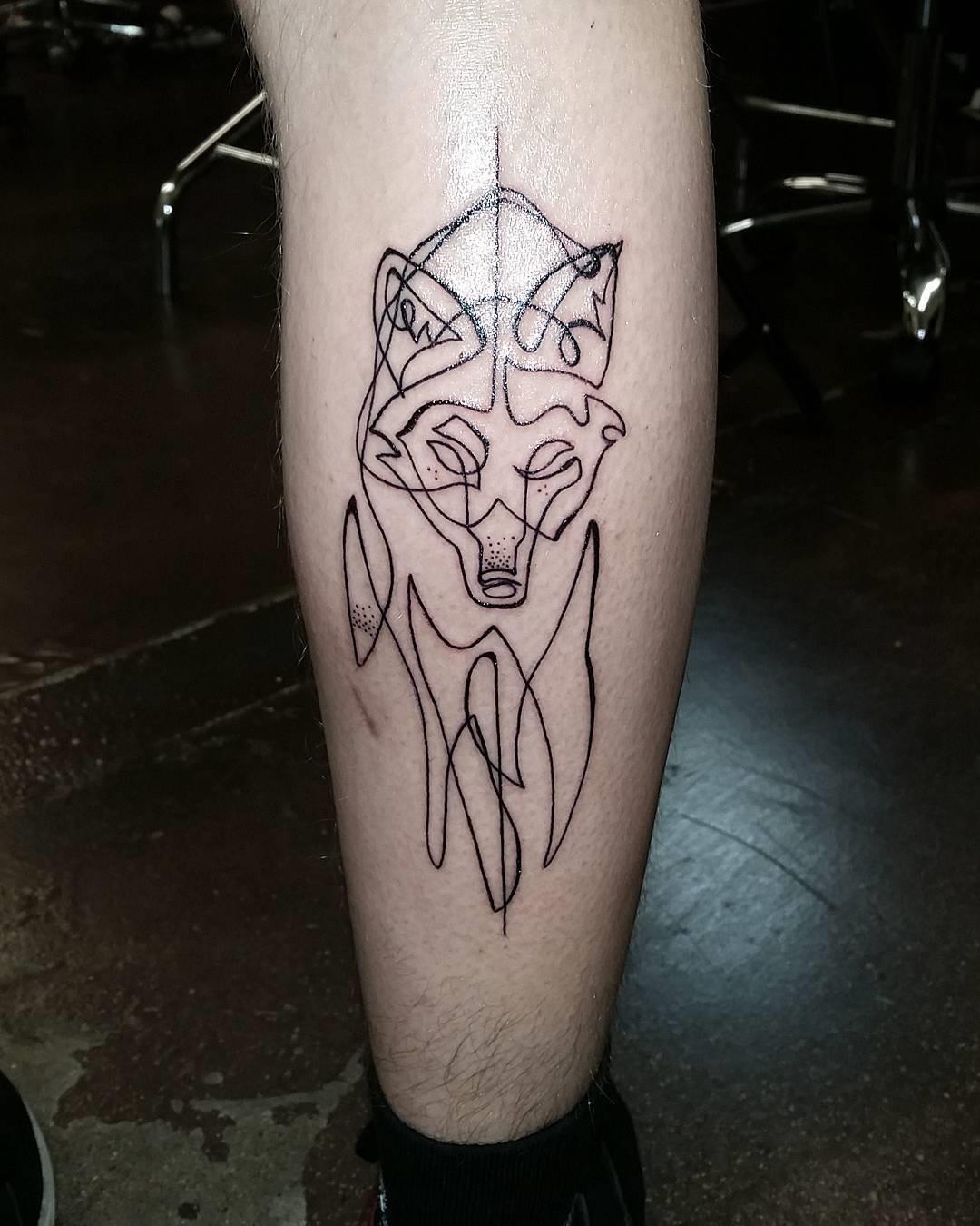 15 Tatuajes De Una Sola Linea Que Querras Hacerte Ahora