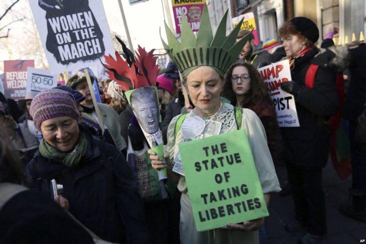 marcha de las mujeres en londres