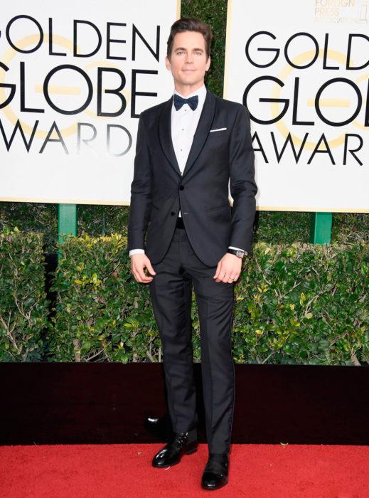 Matt Bomer en los globos de oro