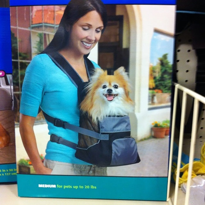 mochila para cargar mascota