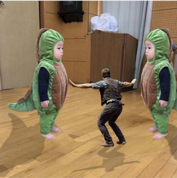 Jurassic Park niño dinosaurio