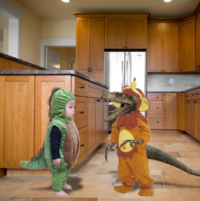 Dinosaurios Photoshop