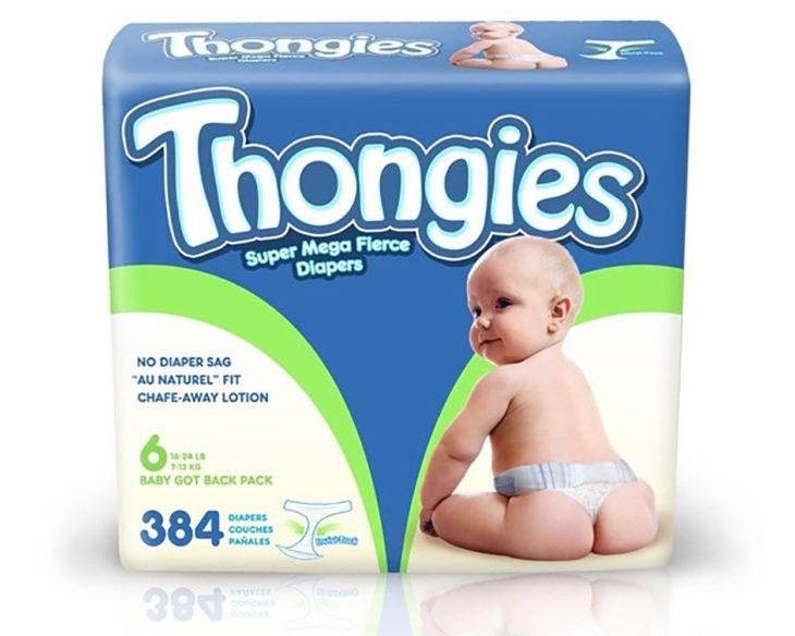 Pañales tanga para bebés