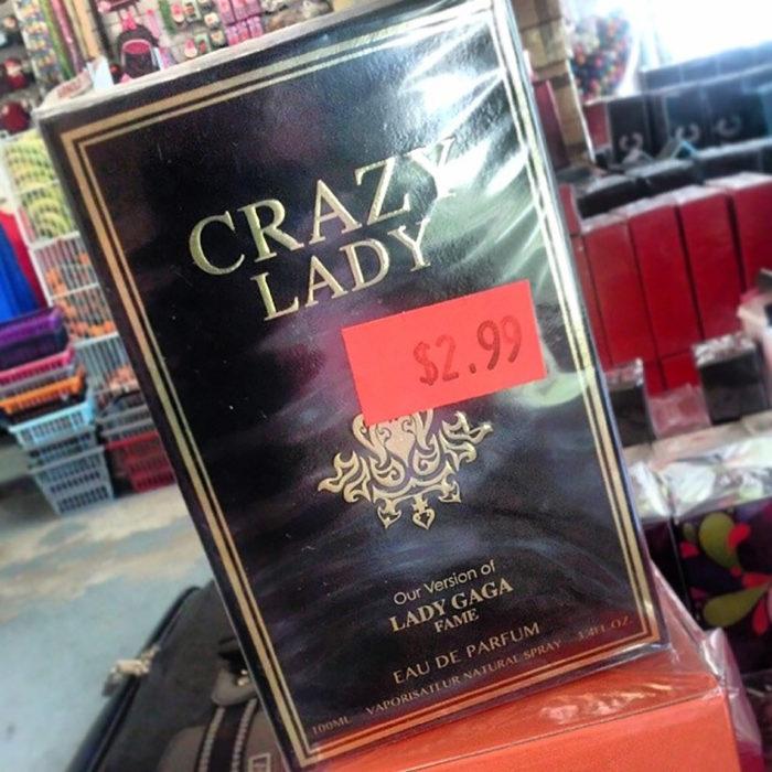 perfume de lady gaga pirata