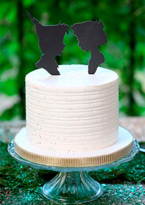 pastel inspirado en la historia de peter pan