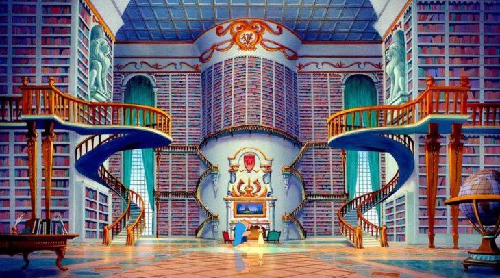 el castillo de la bella y la bestia