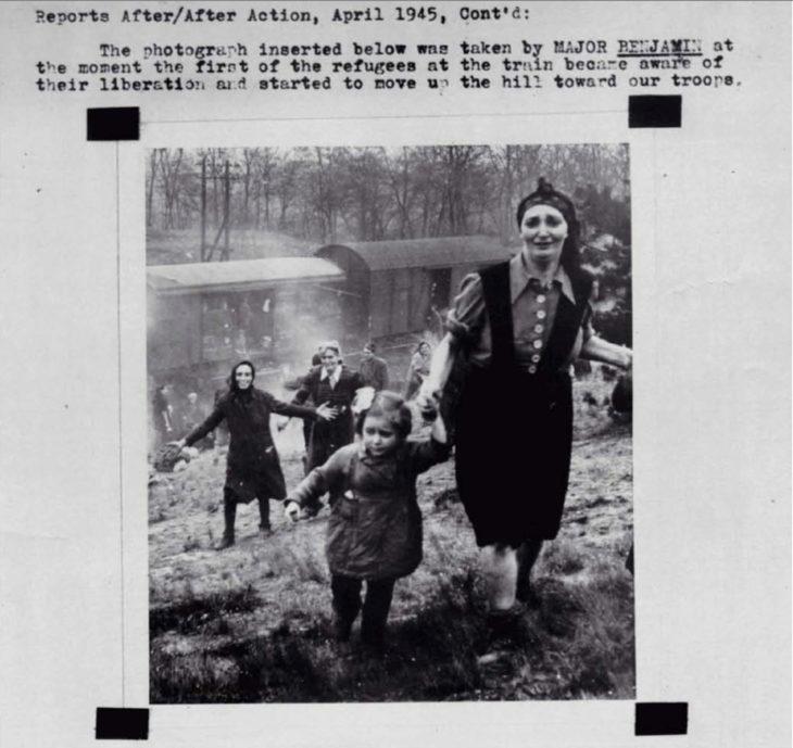 prisioneros judíos liberados