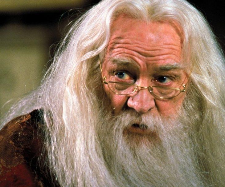 richard harris como el profesor dumbledore