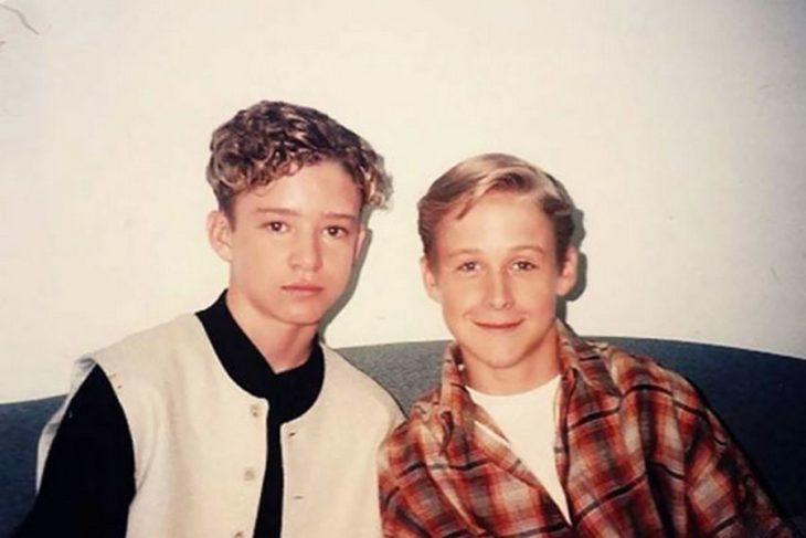 ryan gosling y justin timberlake son amigos desde jóvenes
