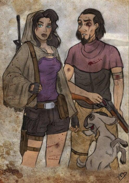 Esmeralda y coplin