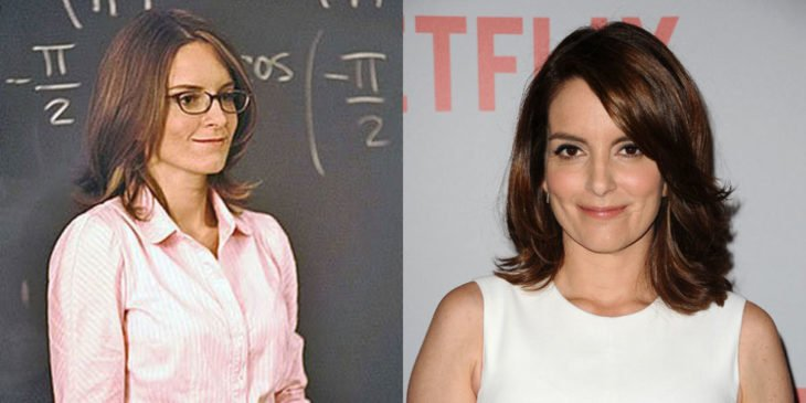 tina fey antes y después de mean girls