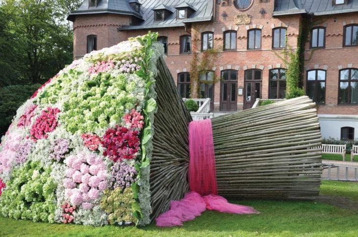 ramo de flores gigante