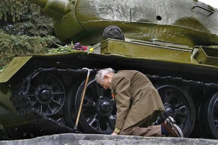 veterano llora