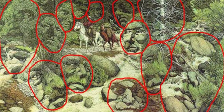 cuadro 13 caras escondidas respuestas