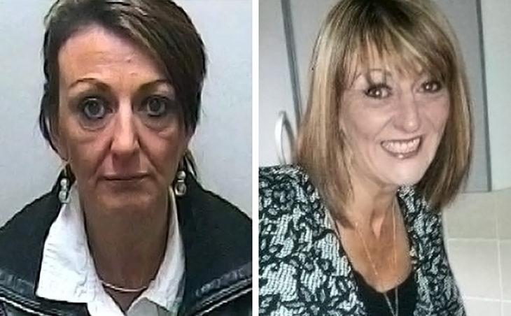 señora antes y después de dejar el consumo de heroína